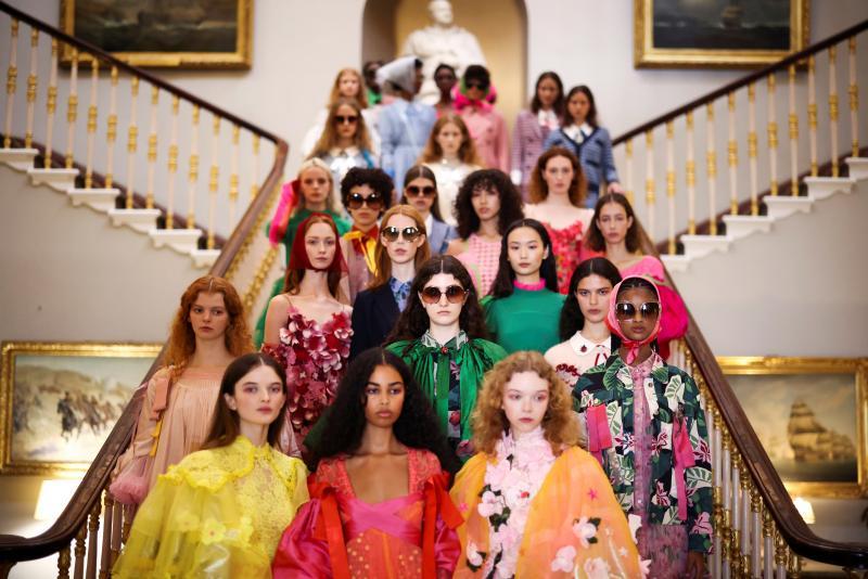 Los desfiles presenciales vuelven a la semana de la moda de Londres