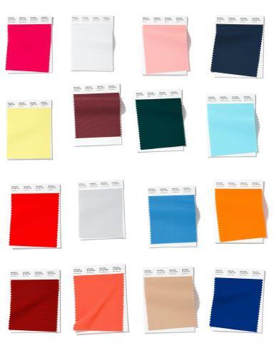 cores Pantone para o Verão