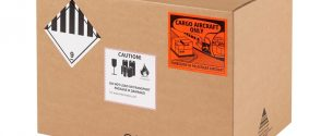 Etiquetado de embalaje de mercancías peligrosas
