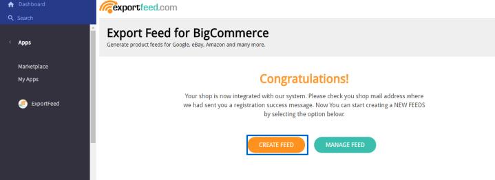 start-creating-feed-bigcommerce-control-panel