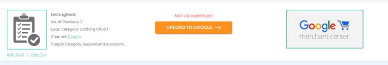 upload to google