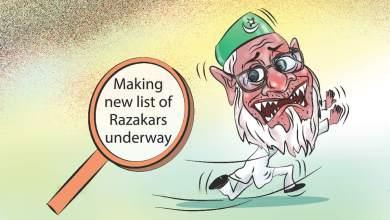 Razakar List Bangladesh