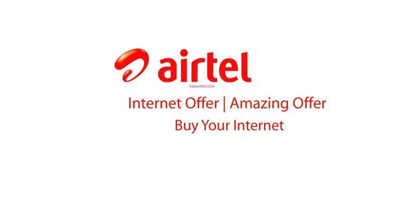 Airtel Internet Offer
