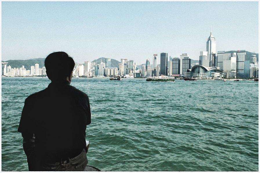 Straßenfotografie in hong kong
