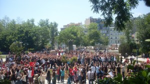 Protests at Gezi Park on 3rd June 2013