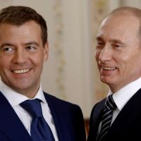 RUSSIA PUTIN MEDVEDEV