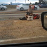 APphoto_Highway Patrol Woman Punched