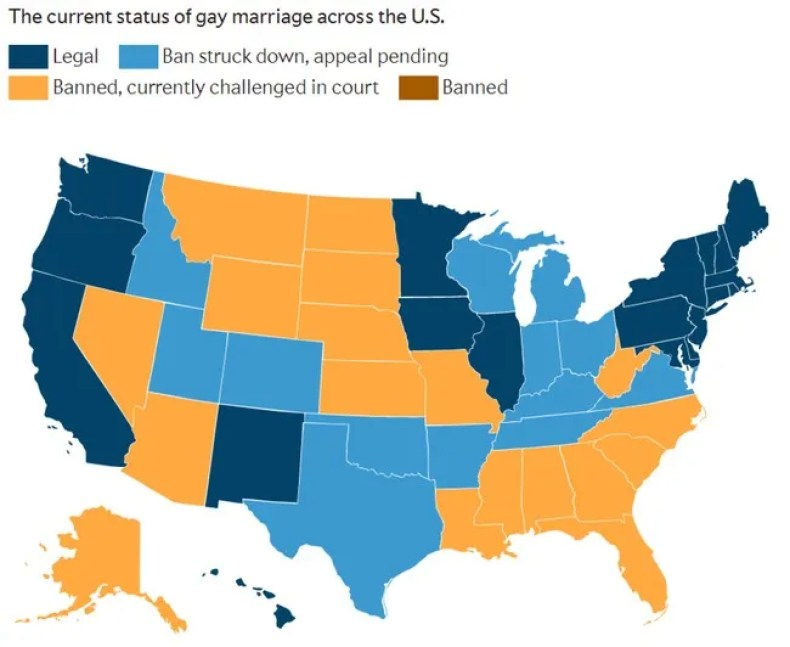 20_Gay Marriage Laws