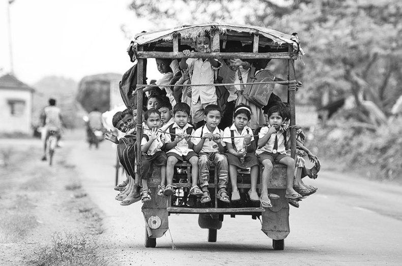25_School In Beldanga, India