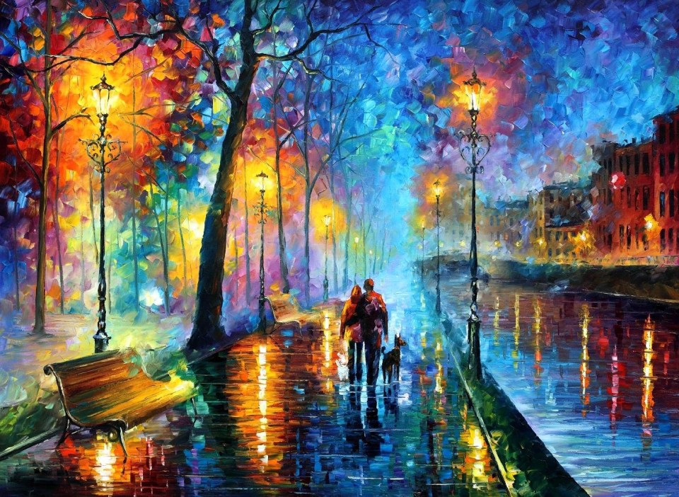afremov_melodyofnight