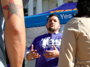 Marcus Ruiz Evans, vice president of Yes California Independence Campaign