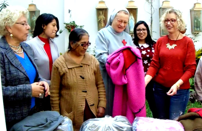 Itessa - donación de colchas