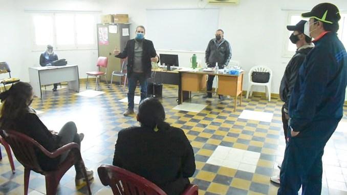 Positiva reunión con comerciantes de la ciudad de Formosa para aclarar modalidad de trabajo adaptada a las medidas sanitarias
