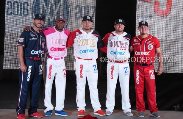 MEXICALI, B.C., SEPTIEMBRE 20 Imagenes durante la presentacion del nuevo uniforme del club Aguilas de Mexicali en las instalaciones del estadio B Air (Foto: ExpresoDeportivo)