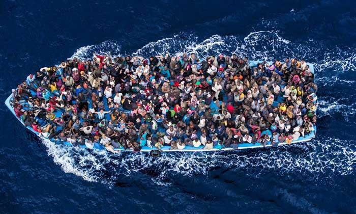 candidats à l'émigration clandestine