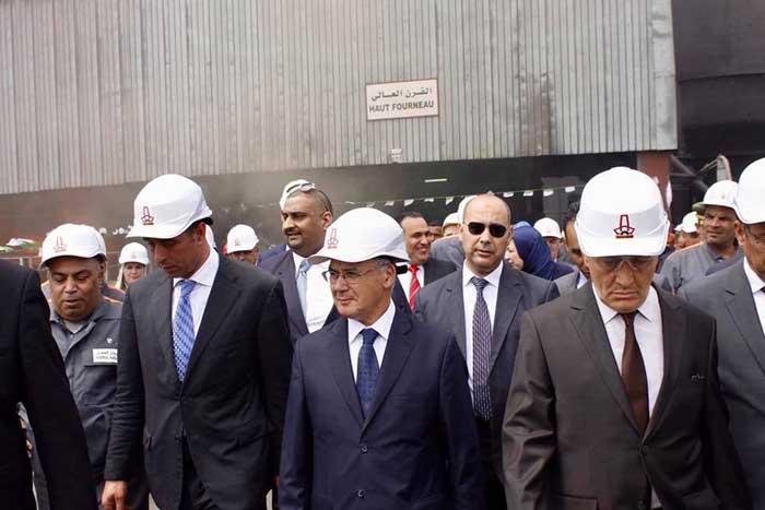 complexe sidérurgique d'El Hadjar