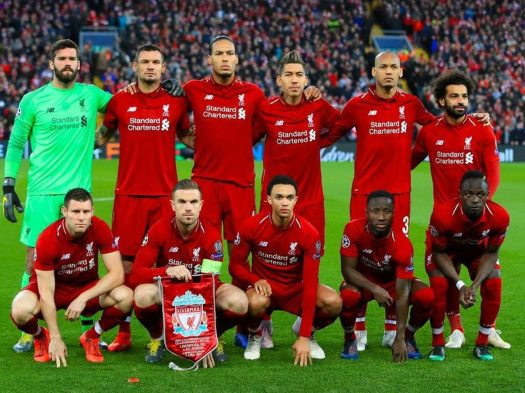 Liverpool FC sign letter thanking 'amazing' NHS trust ...