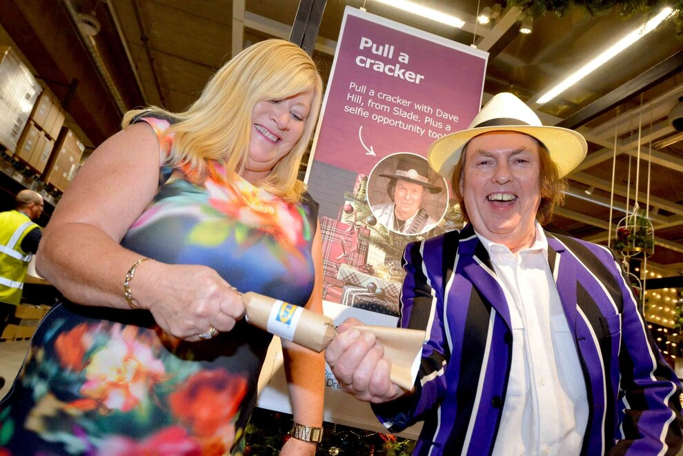 Merry Christmas Everybody Slade Star Dave Hill Launches