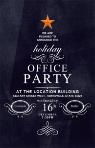 Make This Season A Snap With Holiday Party Invites