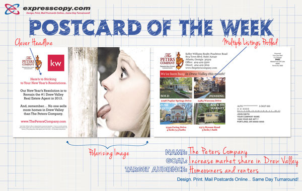 5 Super Effective Direct Mail Postcards With Pictures
