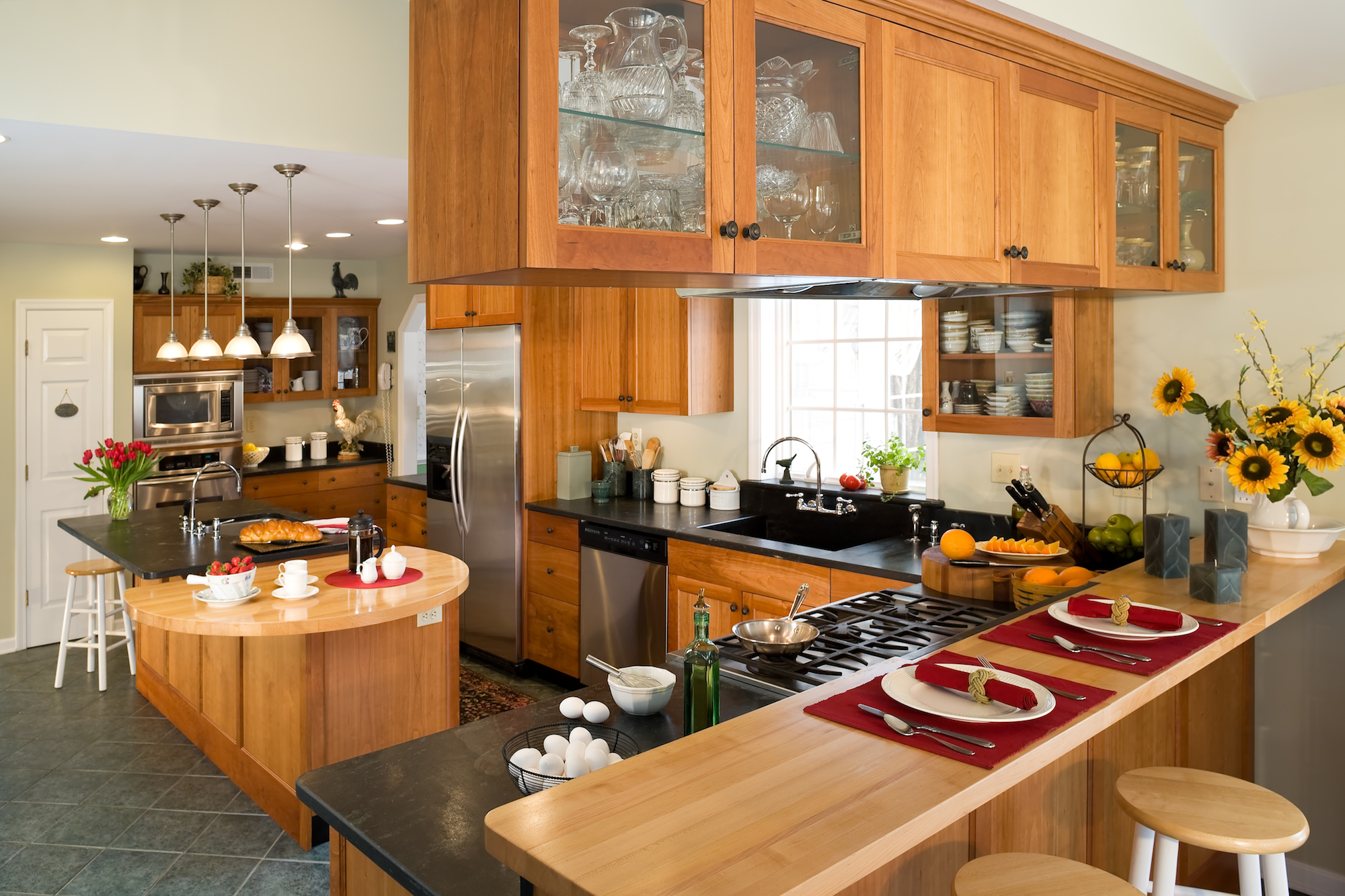 Get the Freshest Kitchen Countertop Trends | Maryland ... on Kitchen Counter Decor Modern  id=75332
