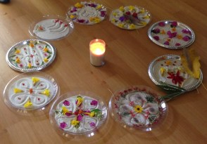 Rangoli Meditation from India