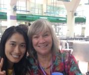 Keiko and Kathleen