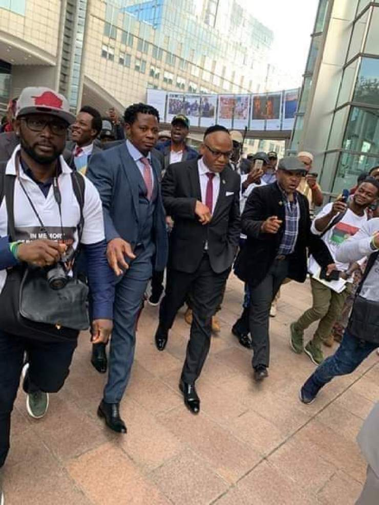 Image result for Nnamdi Kanu United Nations