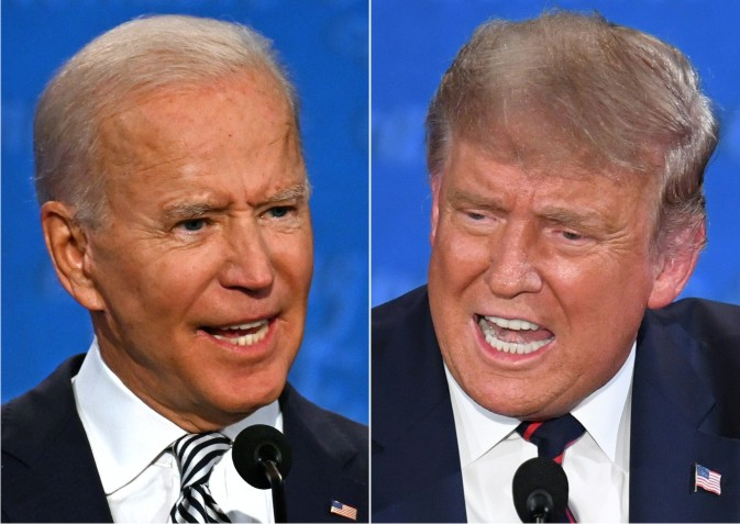 Trump and Biden clash in presidential debate