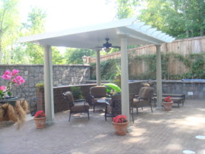 louvered patio cover rock hill sc