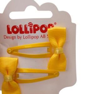 Bow Clip and Bobble Set