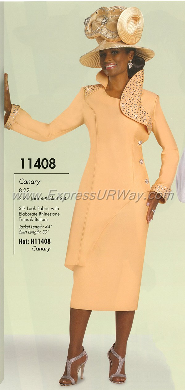 Womens Church Suit By Donna Vinci 11408 Spring 2015