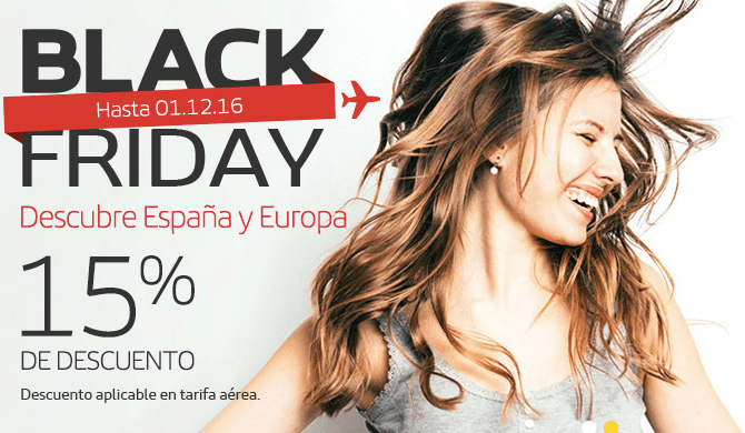 OFERTAS VIAJES BLACK FRIDAY 2016