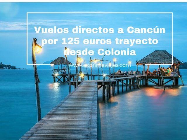 cancun-vuelos-125-euros-trayecto
