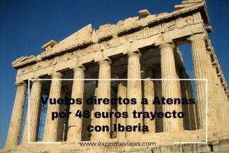 atenas vuelos directos 48 euros