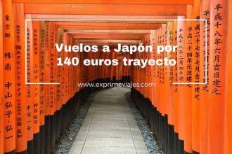 japón vuelos 140 euros trayecto