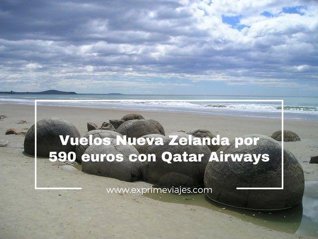 nueva zelanda vuelos qatar airways