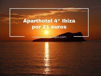 ibiza aparthotel 4 estrellas 21 euros