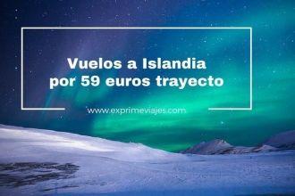 islandia auroras boreales vuelos 59 euros