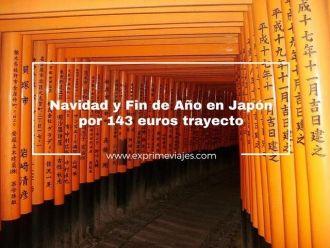japón navidad y fin de año por 143 euros trayecto