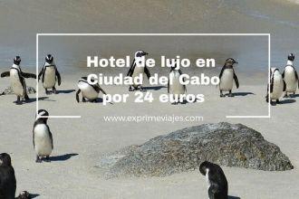 ciudad del cabo hotel lujo 24 euros