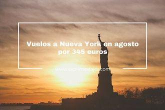 nueva york en agosto vuelos baratos 345 euros