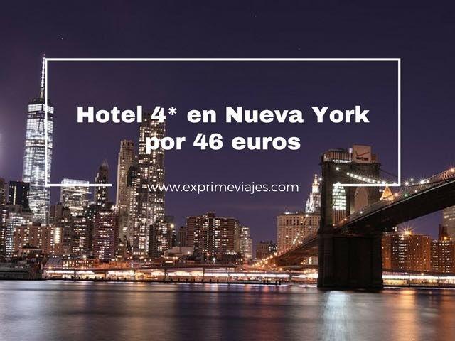 HOTEL 4* EN NUEVA YORK POR 46EUROS