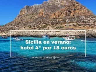 sicilia verano hotel 4 estrellas 18 euros