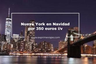 nueva york navidad vuelos 350 euros