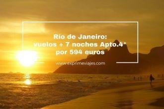 rio de janeiro vuelos 7 noches apartamento 4* 594 euros