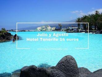tenerife julio y agosto hotel 14 euros