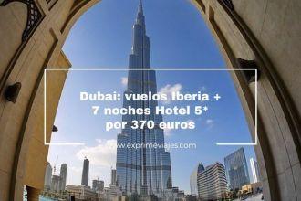 dubai vuelos iberia 7 noches hotel 5 estrellas 370 euros