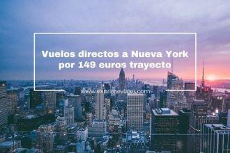 vuelos directos a nueva york 149 euros trayecto