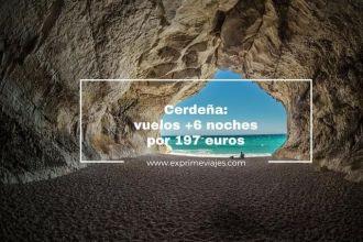 CERDEÑA VUELOS 6 NOCHES 197 EUROS